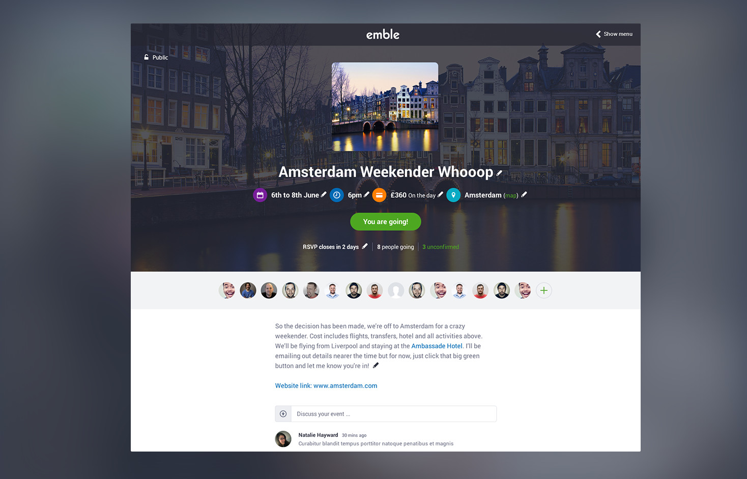 Emble-App-Slider-Image-Run-Event-Page-Clean-Minimal-Design