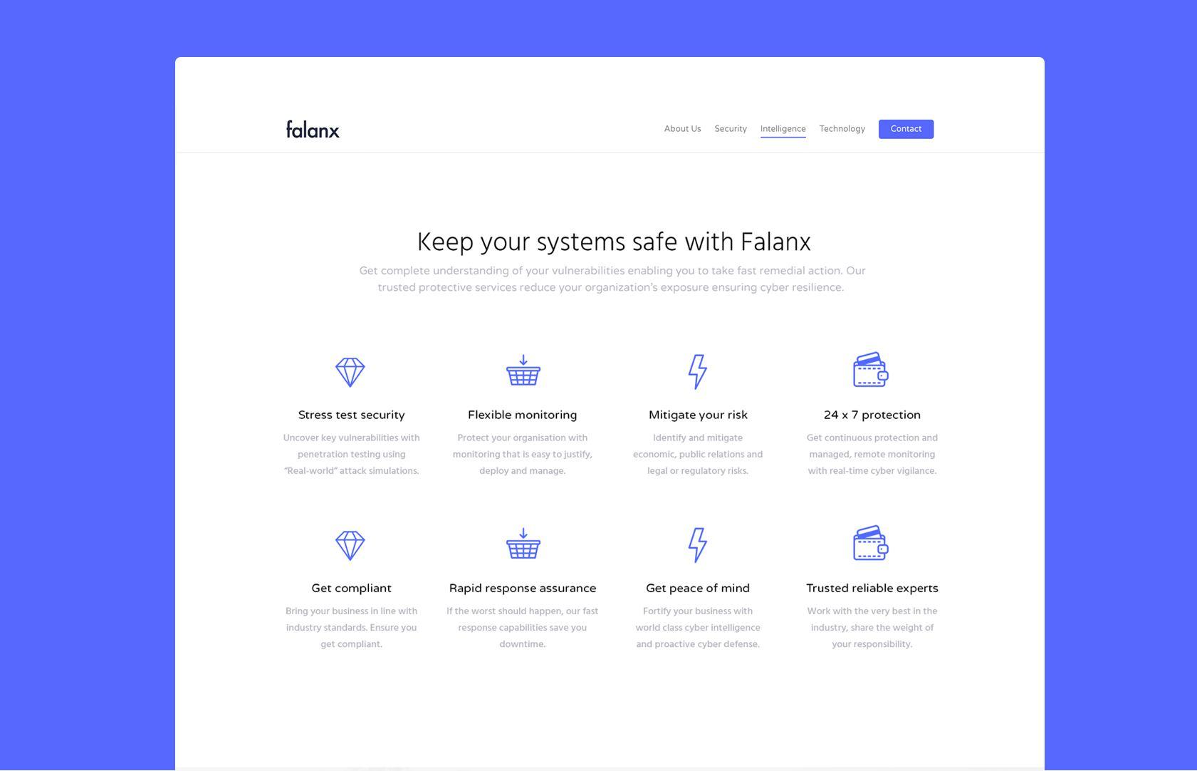 Falanx home page