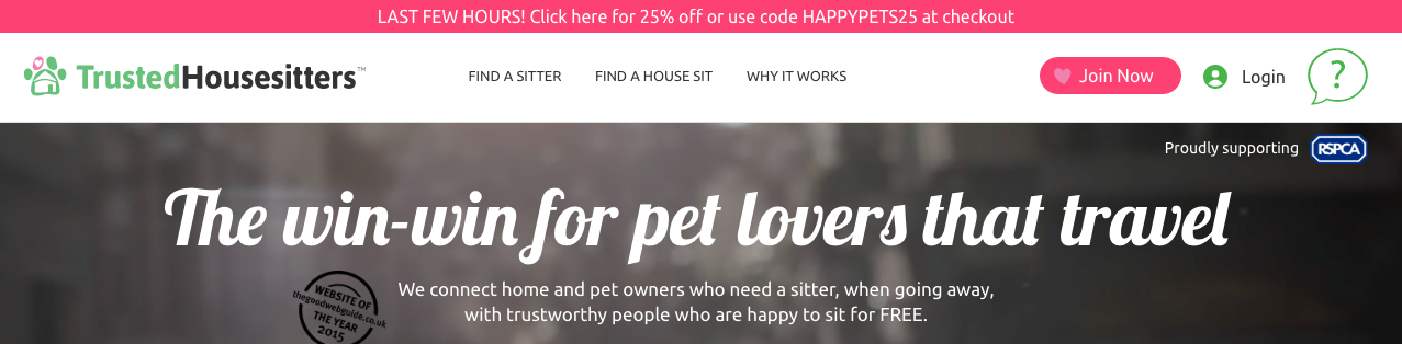TrustedHousesitter-different-fonts-and-sizes